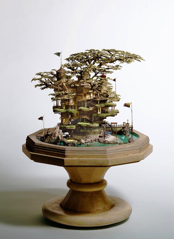 Миниатюрные композиции Таканори Аиба