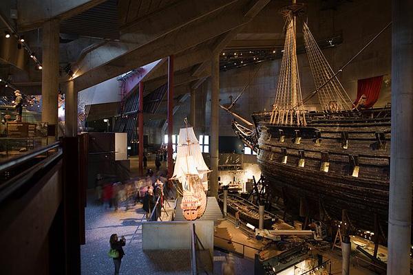 Настоящий голландский галеон в музее Васа