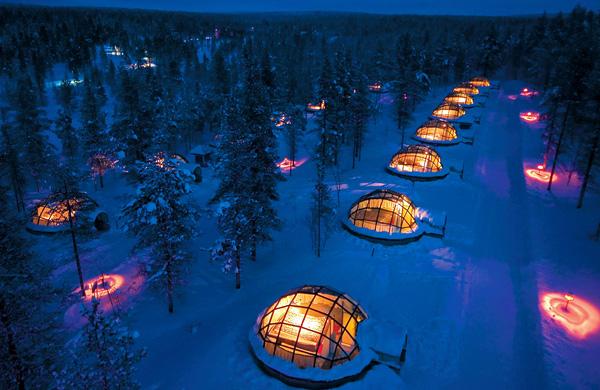 Отель Какслауттанен в Лапландии