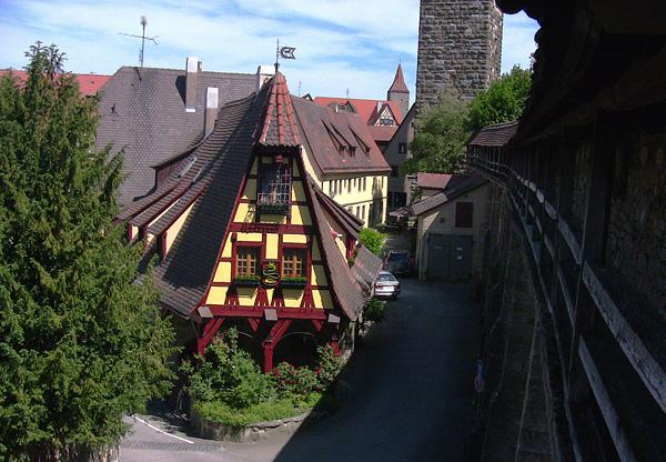 Рождественский город Ротенбург-на-Таубере