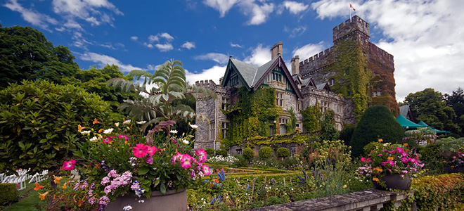 Сады замка Хэтли (23 фото)