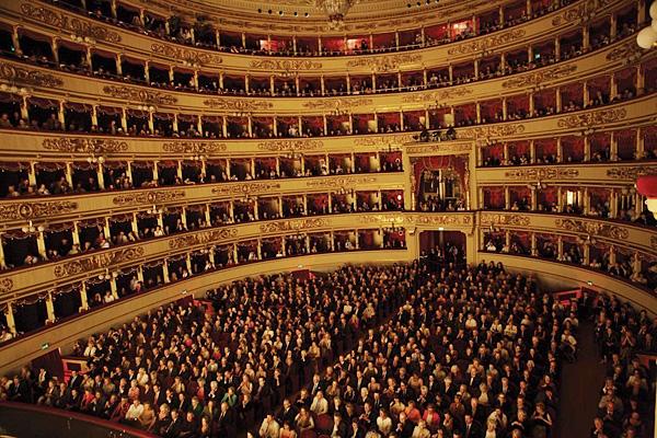 Самый известный театр в мире Ла Скала