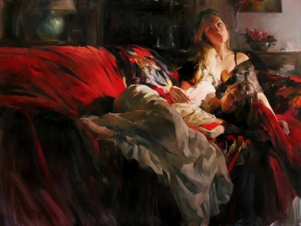 Михаил и Инесса Гармаш и их совместные картины