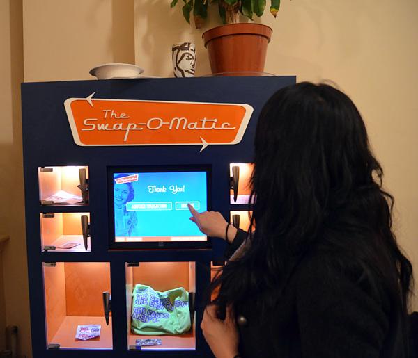 Уникальный обменный аппарат Swap-O-Matic