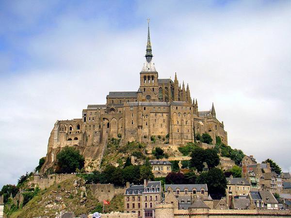 Замок аббатства Мон Сен-Мишель