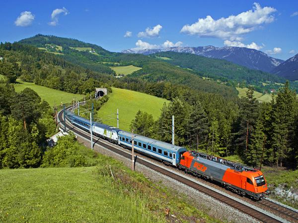 Земмерингская железная дорога в Австрии