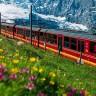 Земмерингская железная дорога в Австрии (11 фото)