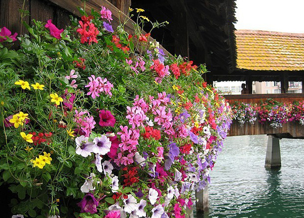 Часовенный мост Капелльбрюкке в Люцерне