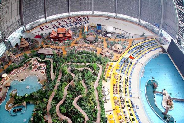 Крупнейший курорт Тропические острова в Германии