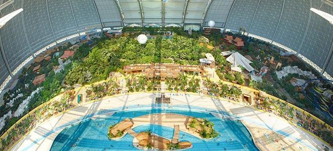 «Тропические острова» — курорт под закрытым небом (15 фото)