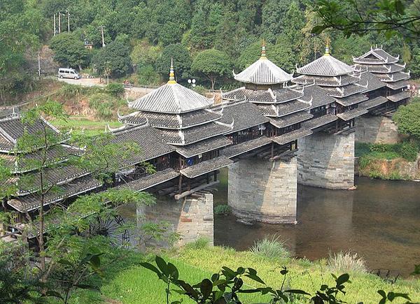 Мост дождя и ветра в Ченьяне