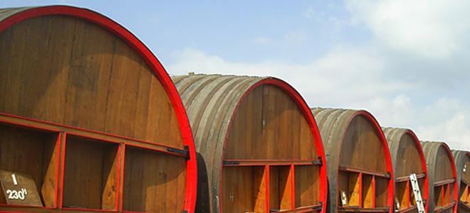 Необычный отель в винных бочках в Голландии (7 фото)