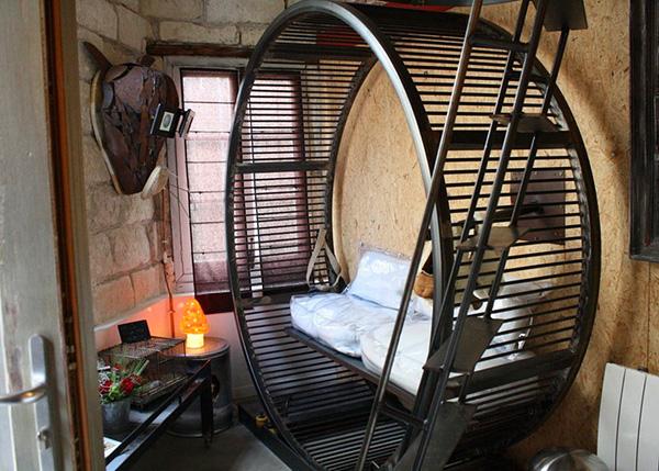 Необычный отель Вилла хомяка