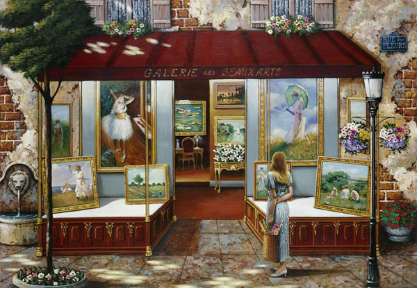 Романтичная живопись Джона О'Брайена (18)