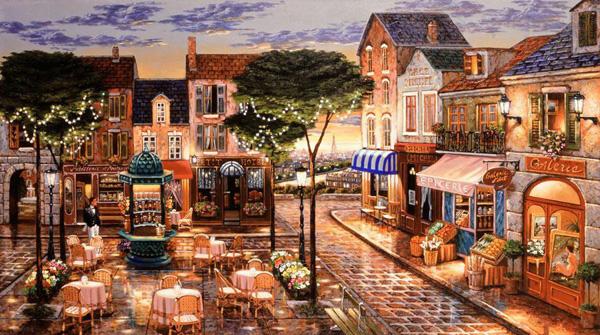 Романтичная живопись Джона О'Брайена (15)