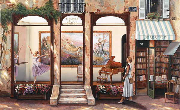 Романтичная живопись Джона О'Брайена (30)