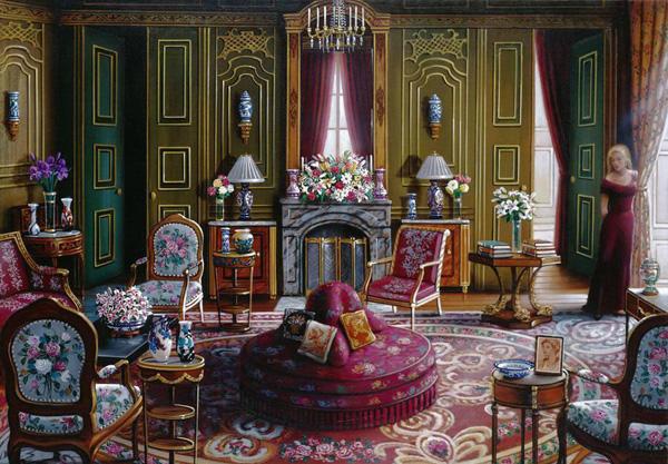 Романтичная живопись Джона О'Брайена (12)