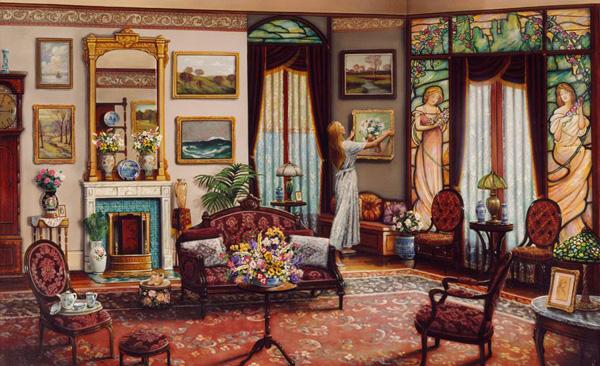 Романтичная живопись Джона О'Брайена (11)