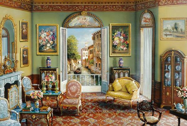 Романтичная живопись Джона О'Брайена (10)