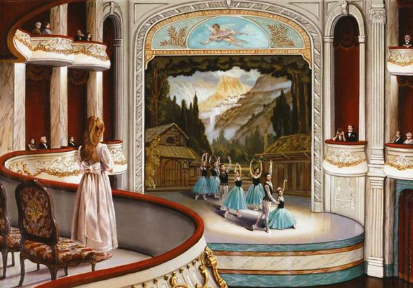 Романтичная живопись Джона О'Брайена (9)
