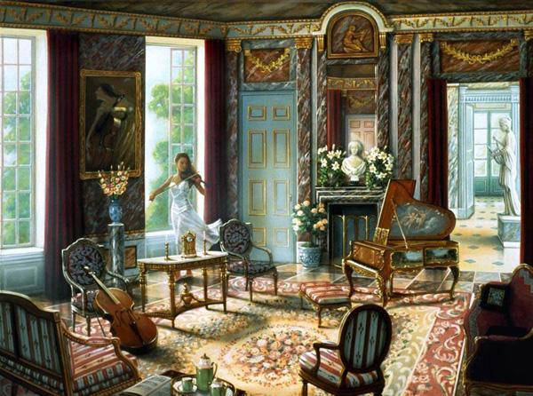 Романтичная живопись Джона О'Брайена (8)