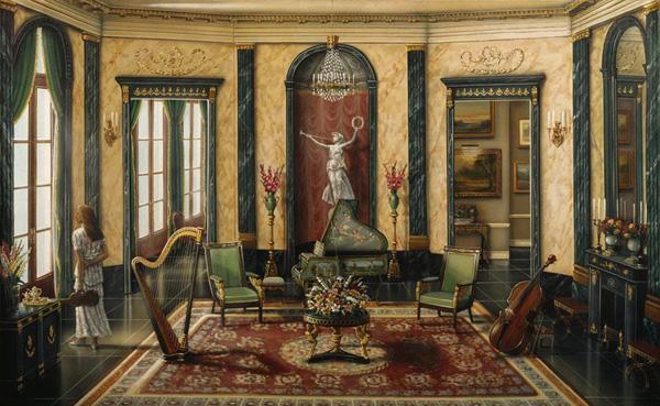 Романтичная живопись Джона О'Брайена (7)
