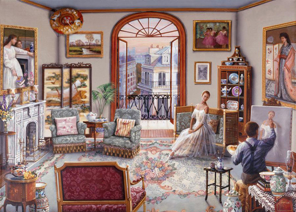 Романтичная живопись Джона О'Брайена (3)