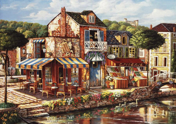 Романтичная живопись Джона О'Брайена (29)