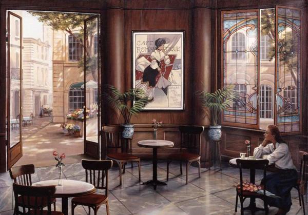 Романтичная живопись Джона О'Брайена (2)