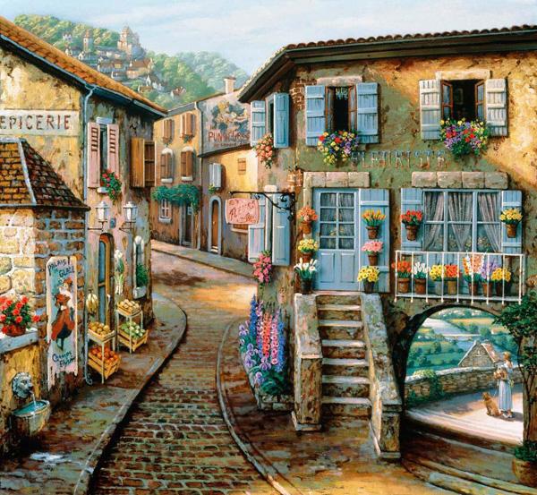 Романтичная живопись Джона О'Брайена (27)