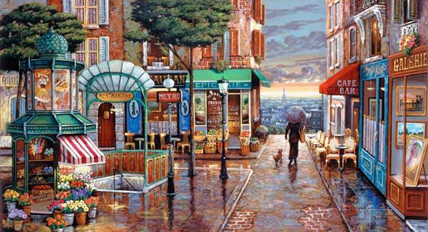 Романтичная живопись Джона О'Брайена (25)