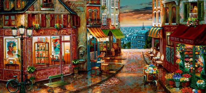 Романтичная живопись Джона Патрика О'Брайена (31 фото)