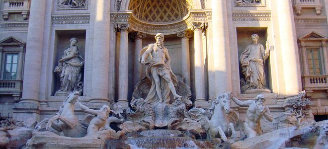 Треви — главный фонтан Рима (11 фото)