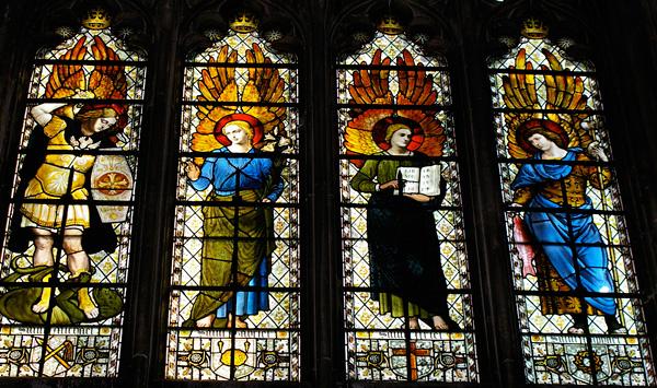 Винчестерский собор в Хэмпшире