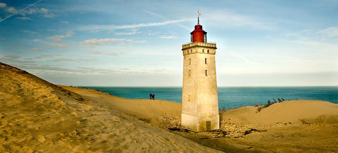 Заброшенный датский маяк Рубьерг Кнуд (13 фото)