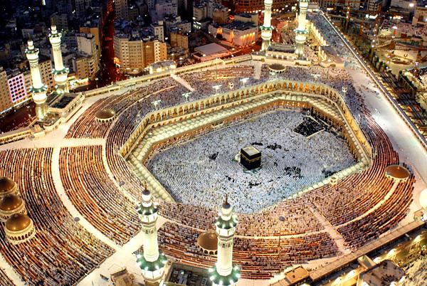 Запретная мечеть Аль-Харам в Мекке