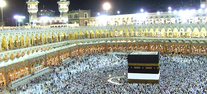 Запретная мечеть Аль-Харам в Мекке (9 фото)