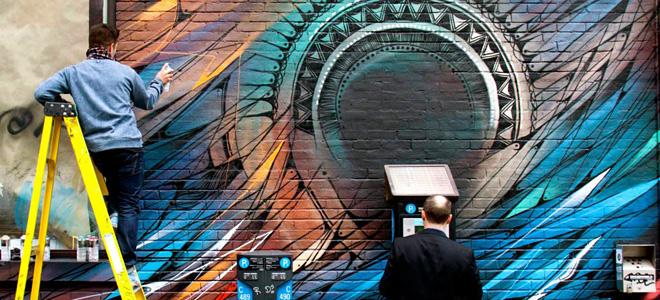 Анаморфное граффити от TSF Crew (9 фото)