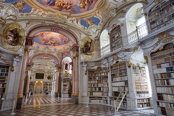 Бенедиктинский монастырь Адмонт в Австрии