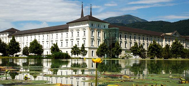 Бенедиктинский монастырь Адмонт в Австрии (11 фото)
