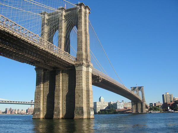 Бруклинский мост - символ Нью-Йорка (4)