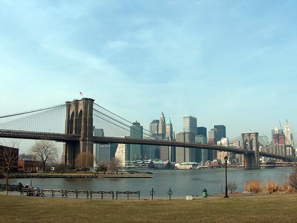 Бруклинский мост - символ Нью-Йорка (2)