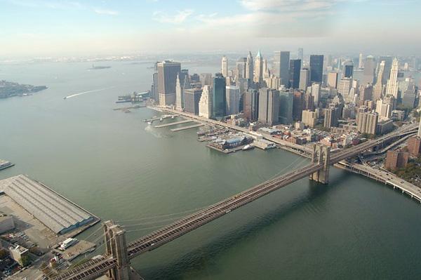 Бруклинский мост - символ Нью-Йорка (1)