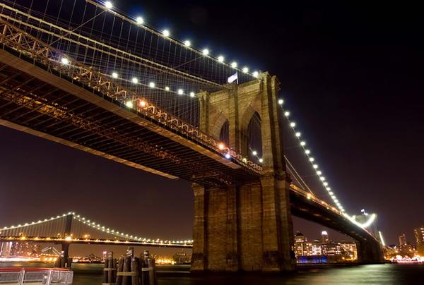 Бруклинский мост - символ Нью-Йорка (11)