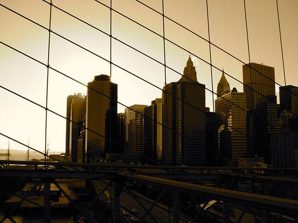 Бруклинский мост - символ Нью-Йорка (10)