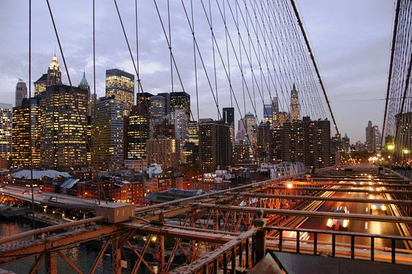 Бруклинский мост - символ Нью-Йорка (9)
