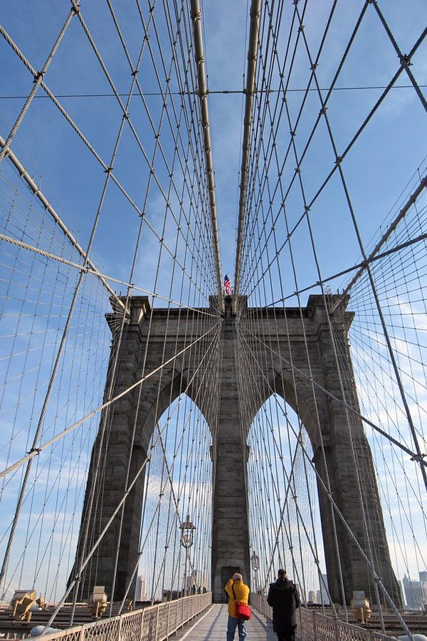 Бруклинский мост - символ Нью-Йорка (7)