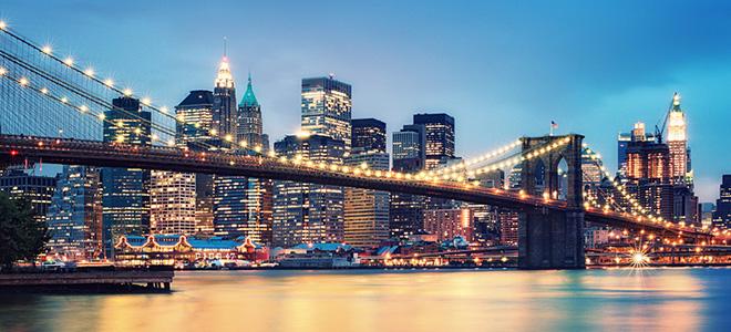 Бруклинский мост — символ Нью-Йорка (13 фото)