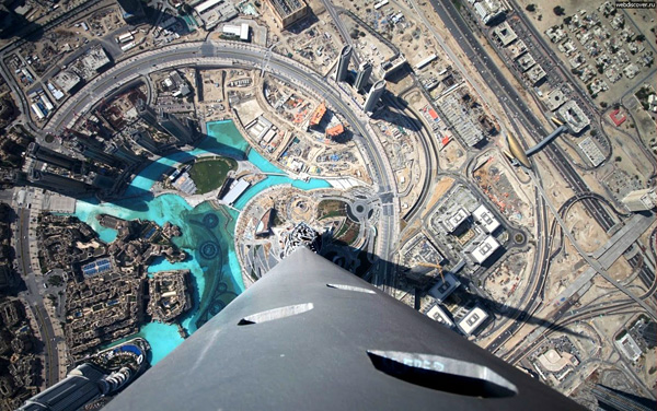Самое высокое здание в мире Бурдж Халифа
