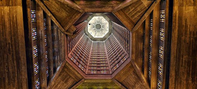 Церковь Святого Иосифа в Гавре (9 фото)